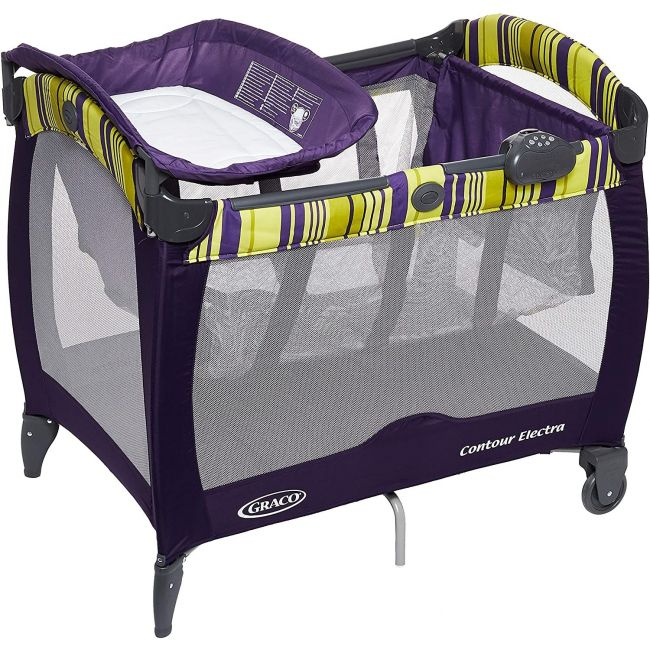 Graco - Pack 'N Play Contour Electra Blackberry Spring