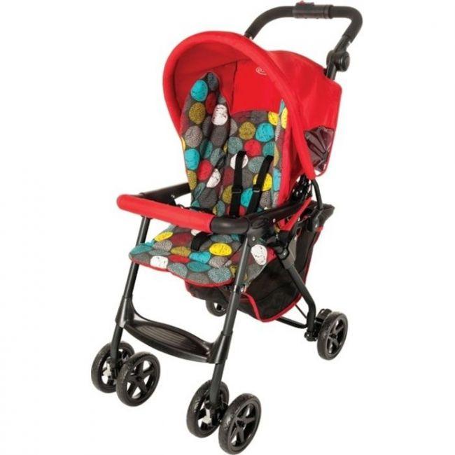 Graco Red Citisport Lite Bubbles Stroller