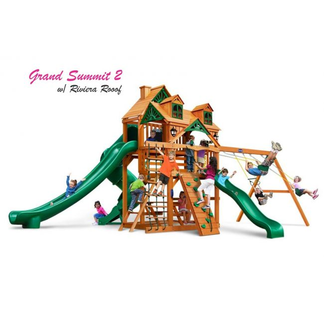 Playnation - Grand Summit 2 Treehouse - Riviera Roof