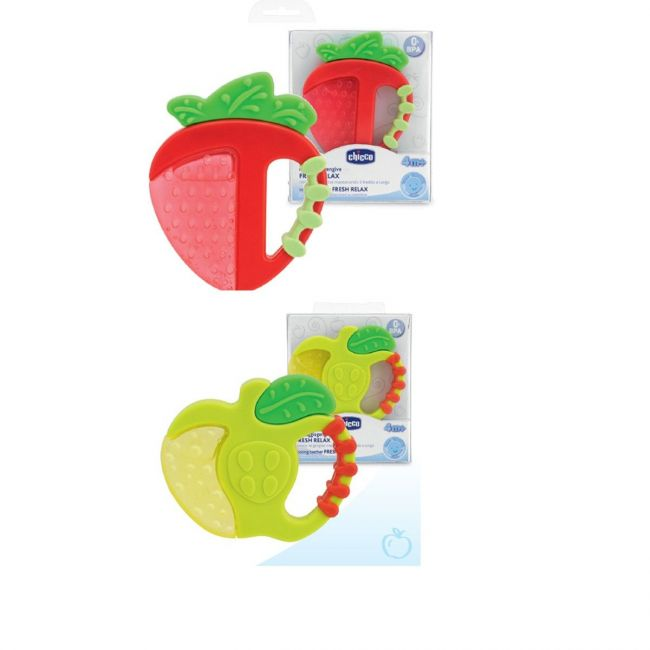 Chicco Fresh Relax Teething Ring 4+months - 1Pc.