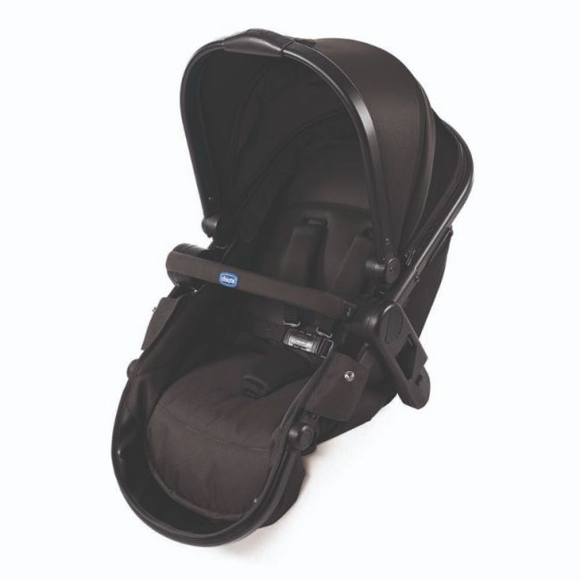 Chicco Additional Seat for Fully Stroller,Black Night