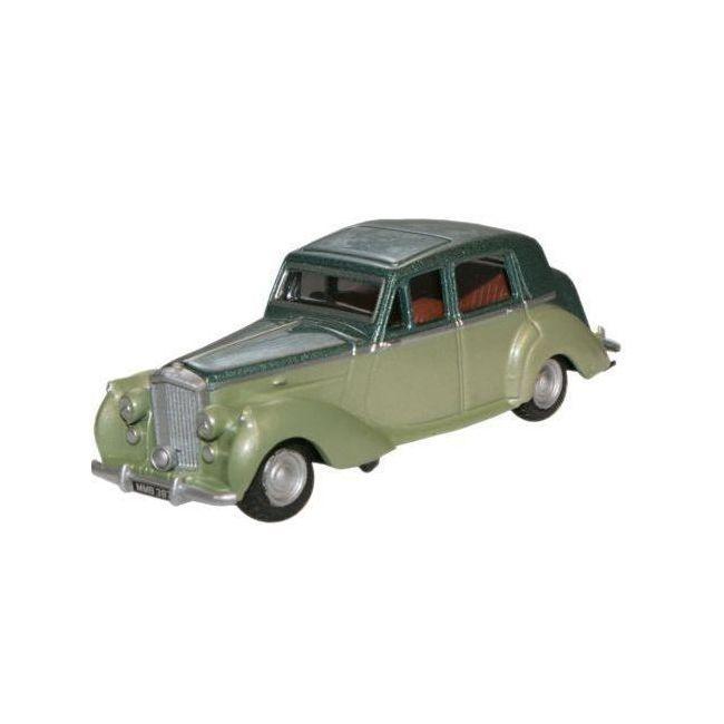 Oxford Diecast Balmoral Green Met./Ice Green Bentley MkVI Toy Car