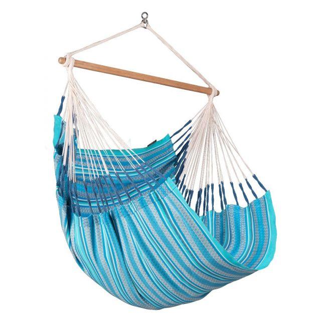 La Siesta - Habana Azure - Organic Cotton Comfort Hammock Chair