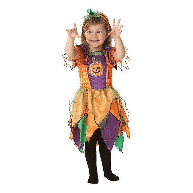 Halloween - Pumpkin Witch Costume