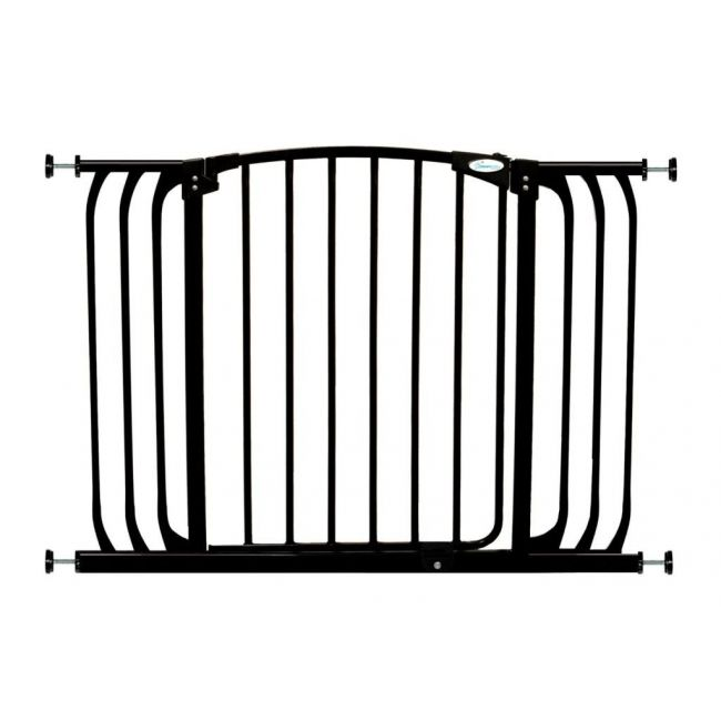 Dreambaby Black Swing Closed Hallway Security Gate