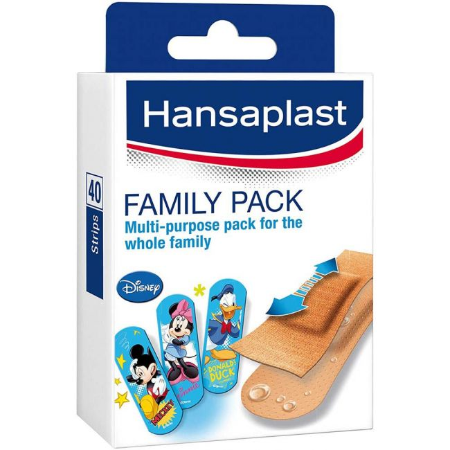 Hansaplast - Family Pack Strips 40'S