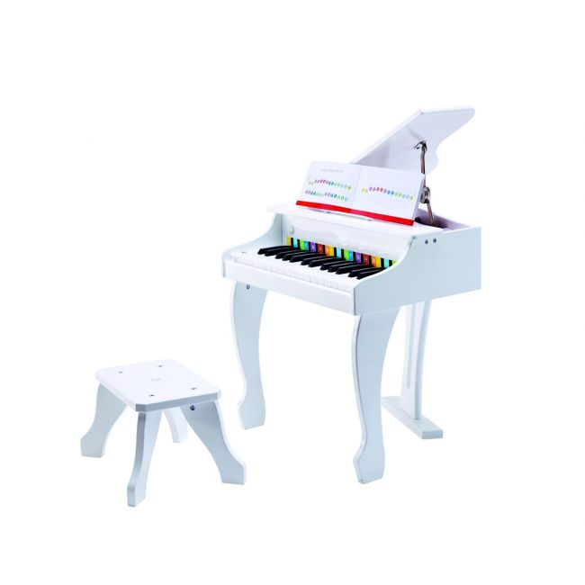 Hape - Deluxe Grand Piano / White Musical Toy