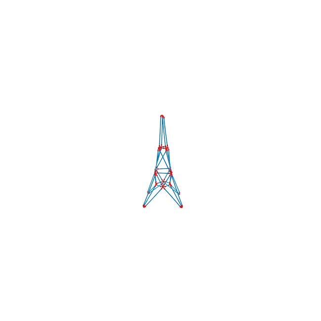 Hape Eiffel Tower - Craft Toy