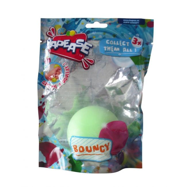 Hapease - Squeeze Ball 6 Cms Bouncy Green