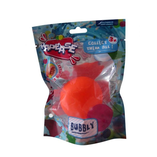 Hapease - Squeeze Ball 6 Cms Bubbly Red
