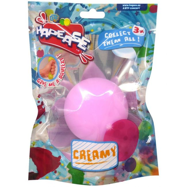 Hapease - Squeeze Ball 6 Cms Creamy Pink