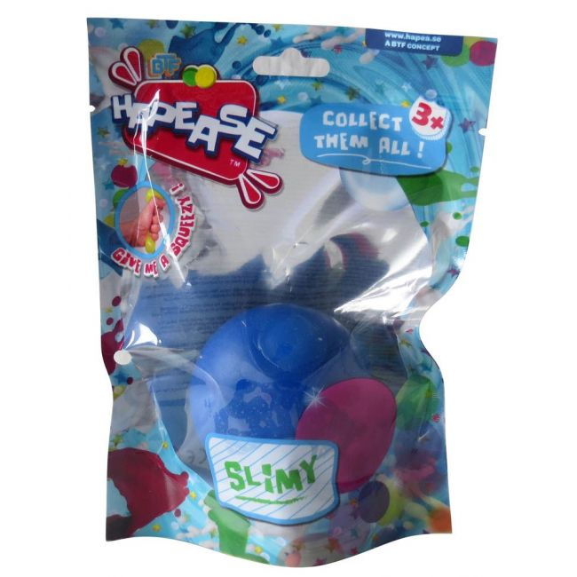 Hapease - Squeeze Ball 6 Cms Slimy Dark Blue