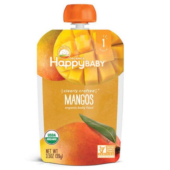 Happy Baby - S1 Mangos, 99g