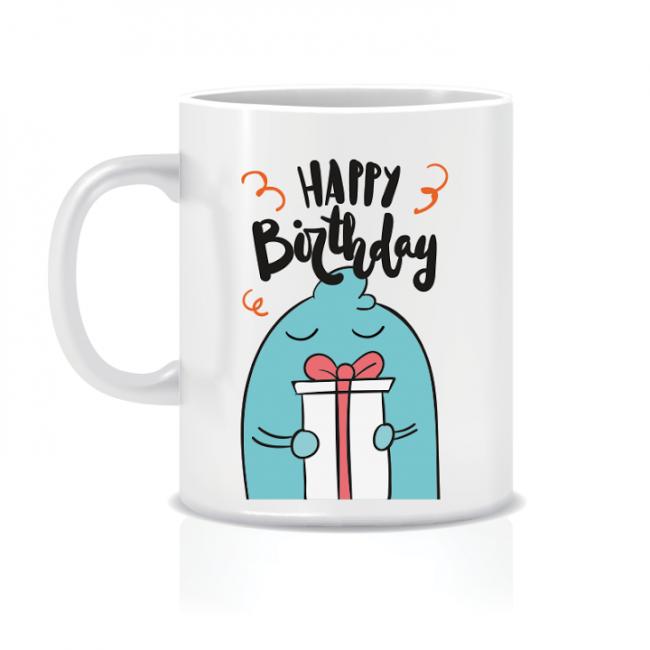 Twinkle Hands Happy Birthday Mug - Gift