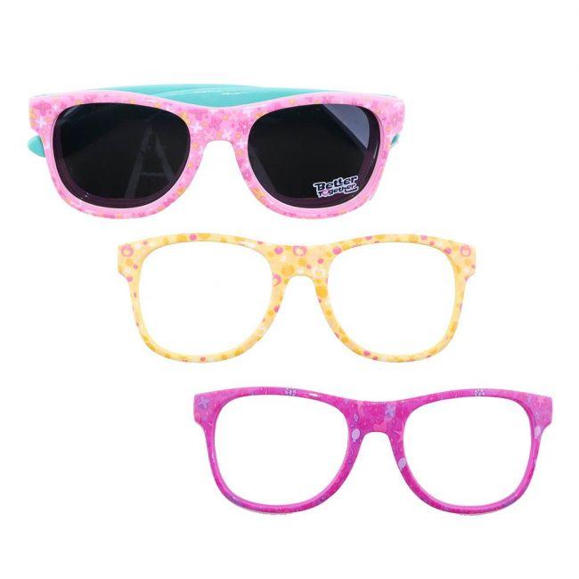 Hasbro Gaming - My Little Pony Kids Interchangeable Frame Sunglasses Set