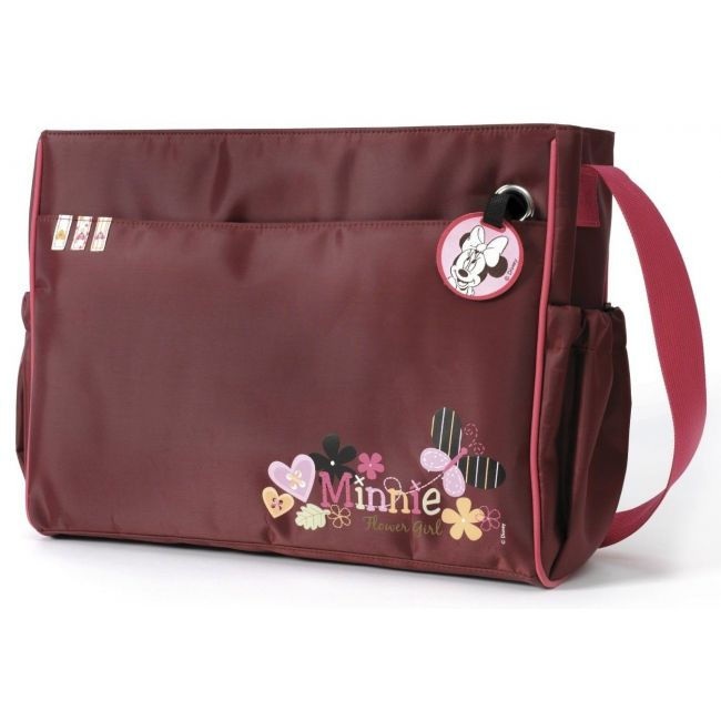 Hauck Burgandy Minnie Diaper Changing bag