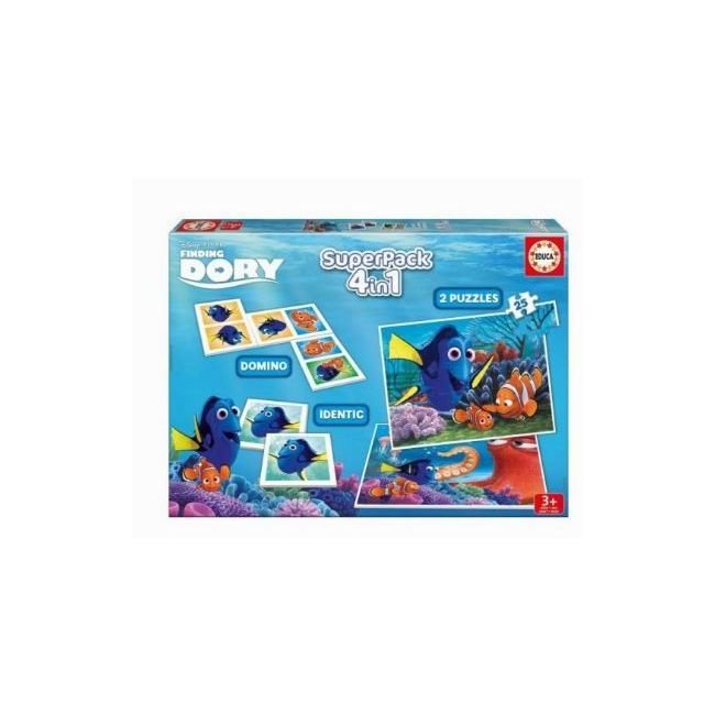 Educa Super pack Finding Dory Puzzles