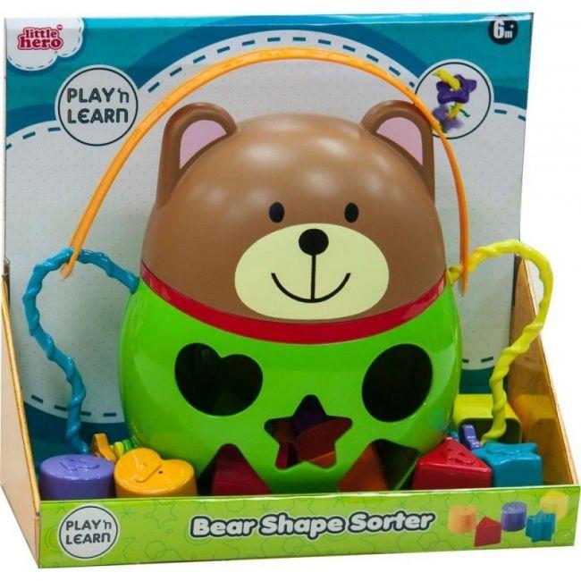 Little Hero Bear Shape Sorter
