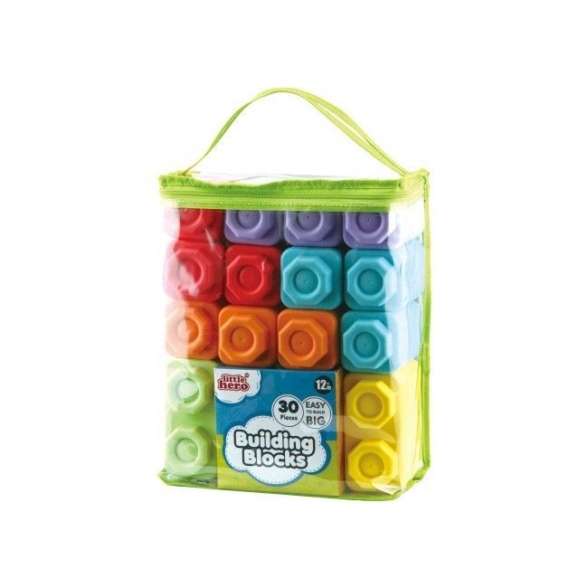 Little Hero Building Blocks - 30pcs
