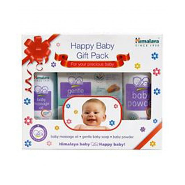 Himalaya - Happy Baby Care Gift Pack 3 S