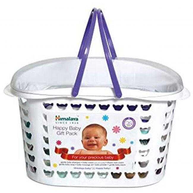 Himalaya - Happy Baby Gift Basket 7 In 1