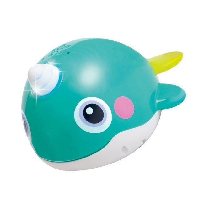 Hola Baby Toy Whale Blue