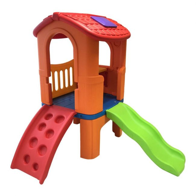 Home Canvas - Kids Slide Climber Clube House Multi Color