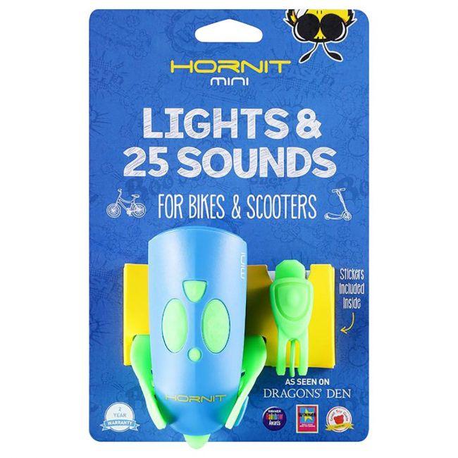 Hornit - Mini Light & 25 Sounds - Blue Green