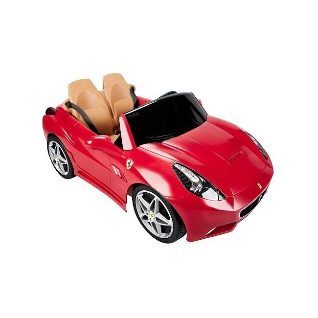 Feber Rideon Ferrari California Ride-On Car - 12V
