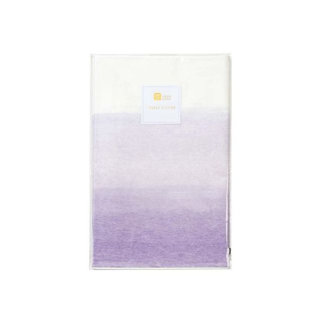 Talking Tables We Heart Lilac Paper Table Cover