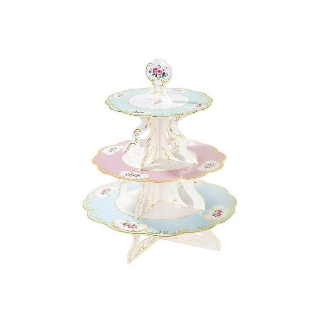 Talking Tables Truly Chintz 3 Tier Reversible Cake Stand