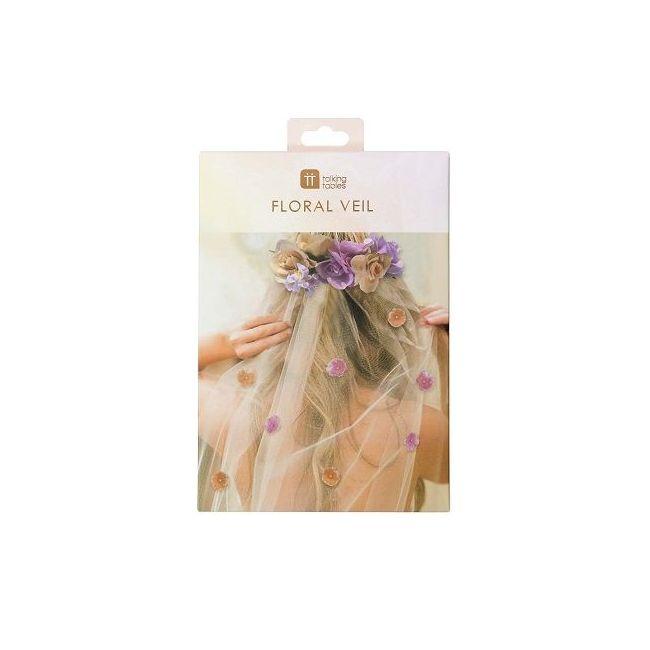 Talking Tables Blossom Girls Floral Headband & Veil
