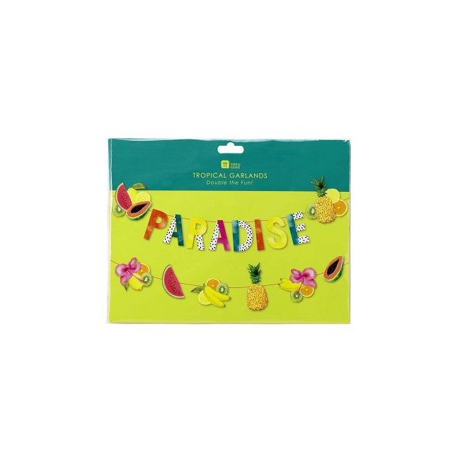 Talking Tables Tropical Fiesta Paradise Fruit Garland