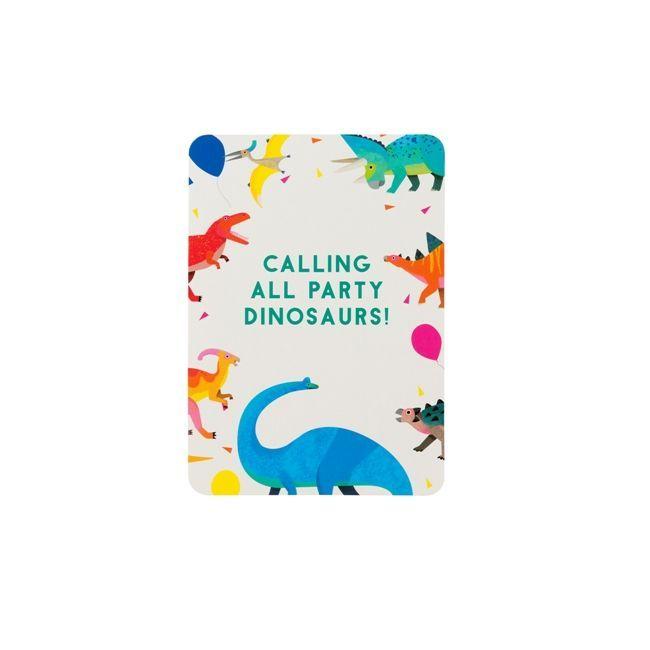 Talking Tables Party Dinosaur Invitations