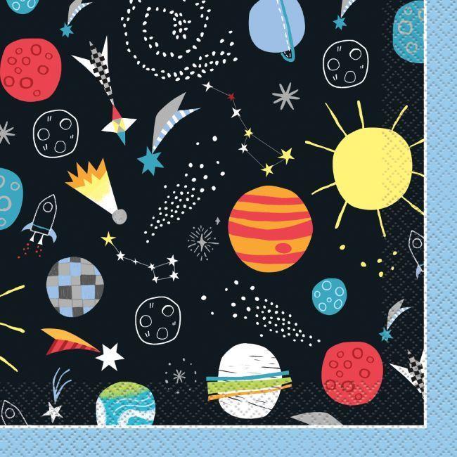 Unique Outer Space Luncheon Napkin