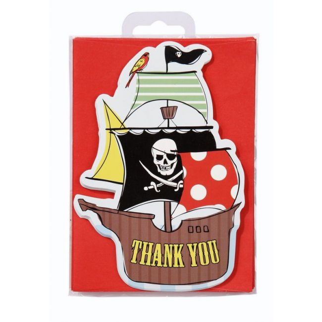 Talking Tables Pirate Thank You Cards