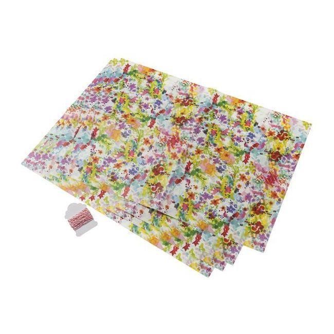 Talking Tables Floral Fiesta Greaseproof Paper & Twine