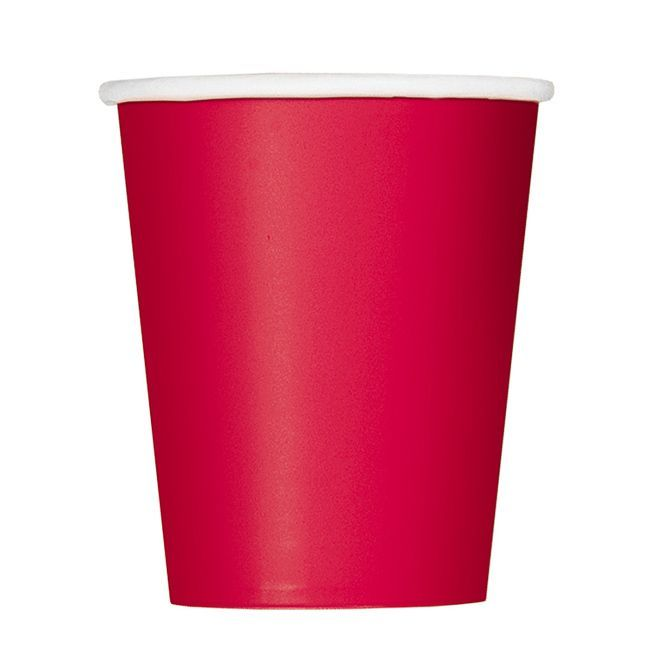Unique Ruby Red Cup