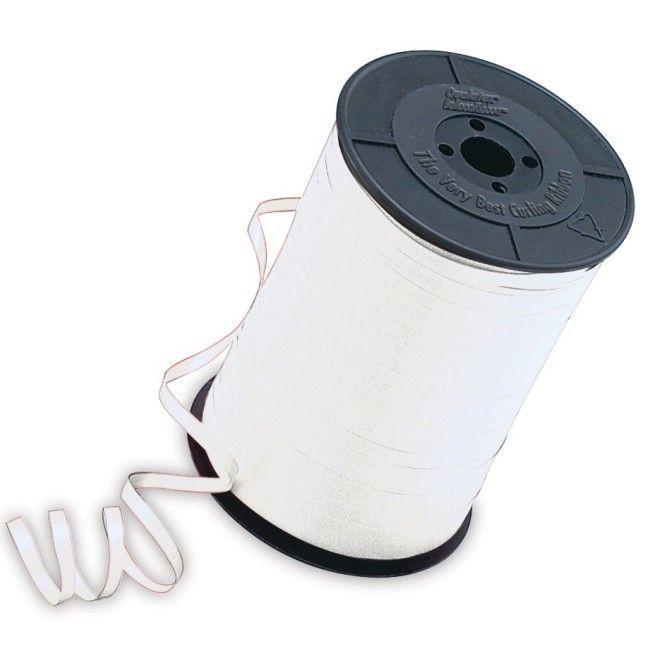 Unique White Curling Ribbon