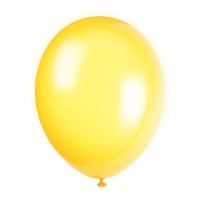 Unique Yellow Balloon Pack