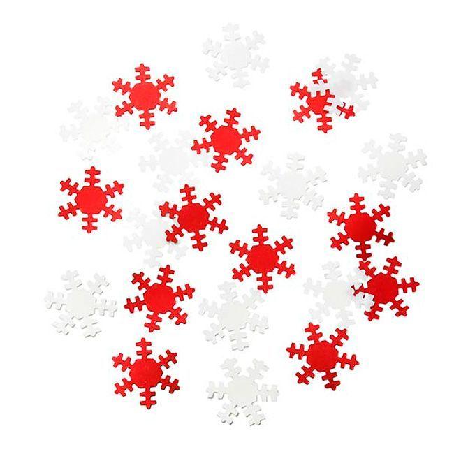 Talking Tables Ho Ho Ho Snowflake Metallic Scatter