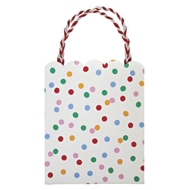 Meri Meri - Toot Sweet Spotty Party Bags - Pack of 8