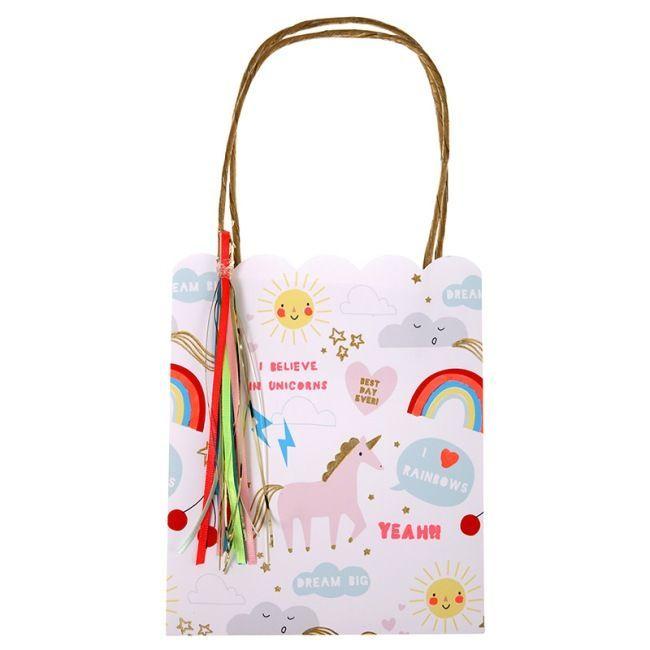 Meri Meri - Rainbow & Unicorn Party Bags