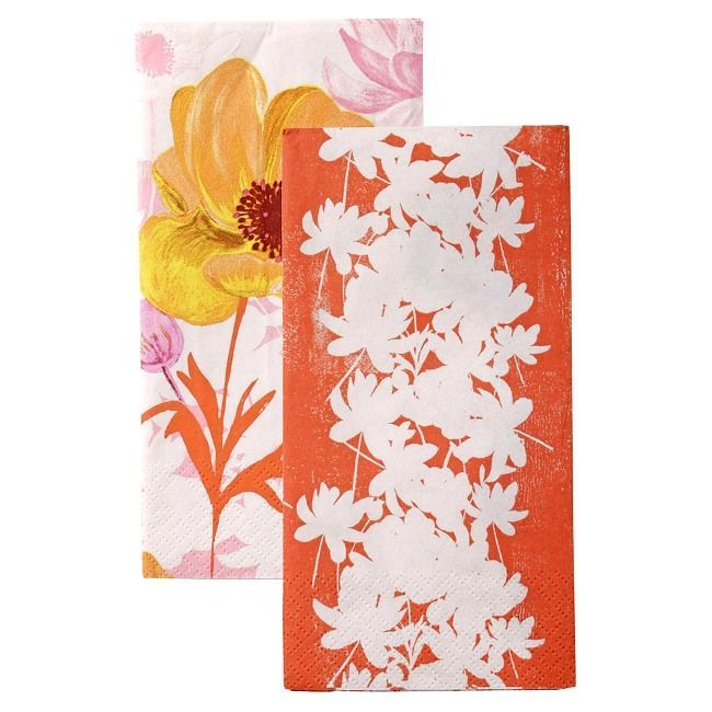 Talking Tables Gertrude's Garden Floral Duo Napkins