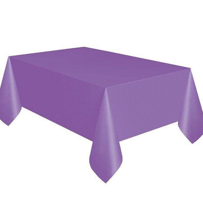 Unique Pretty Purple Table Cover