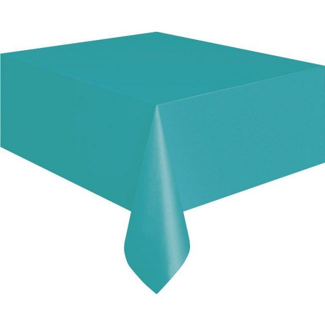 Unique Caribbean Teal Table Cover