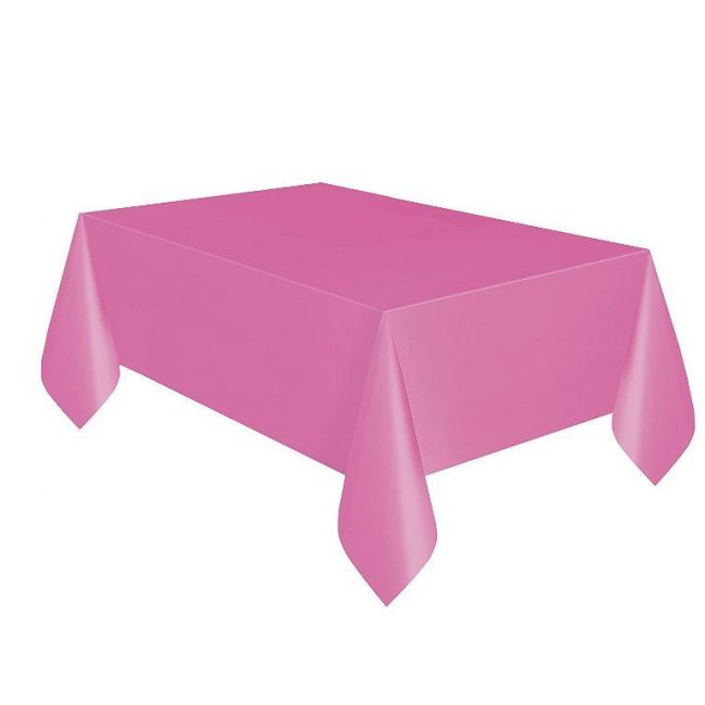 Unique Hot Pink Table Cover