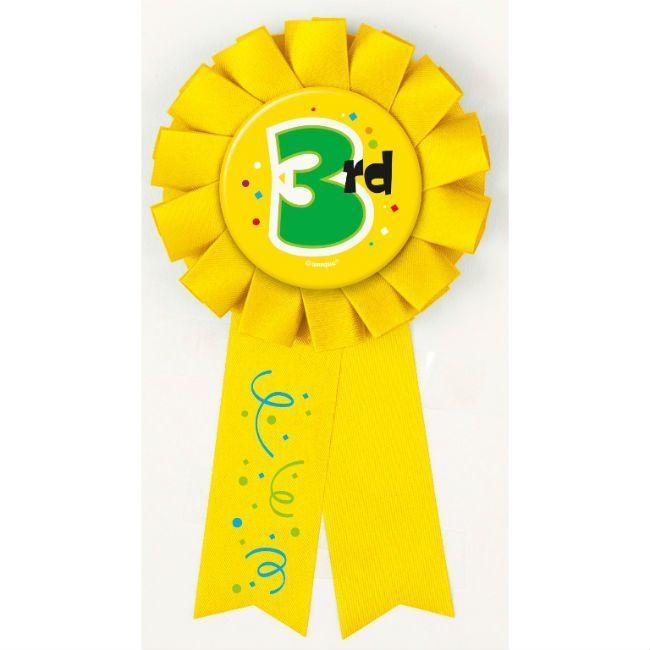 Unique 3rd Award Ribbon