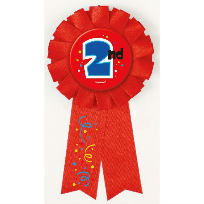 Unique 2nd Award Ribbon