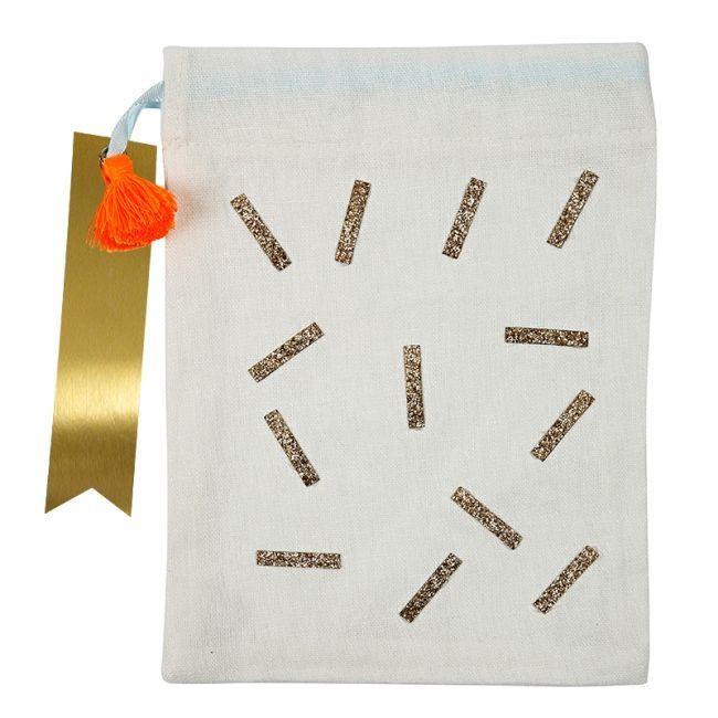 Meri Meri - Glitter Sprinkles Party Bag - 4Pcs